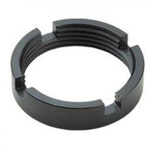 Advanced Technology AR-15 Steel Castle Nut Universal Receiver Extension Steel Black A.5.10.1020