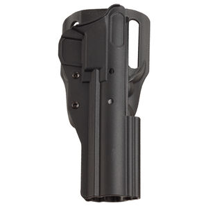 Tactical Solutions Pac-Lite Ambidextrous Belt Holster High Ride Ruger MK Series and 22/45 Pistols Kydex Matte Black