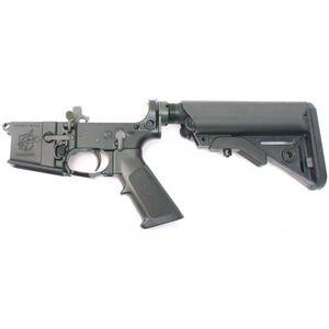Knights Armament Semi Auto SR-15 Lower .223 Rem/5.56 NATO Black Sopmod Stock Match Trigger