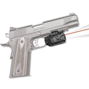 Crimson Trace Rail Master Pro Universal Red Laser Sight and LED Tactical Light 100 Lumen 1x CR2 Battery Rail Mount Black CMR205