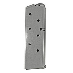 Kimber Micro 9/EVO SP Magazine 9mm Luger 6 Rounds Steel Natural Stainless Finish