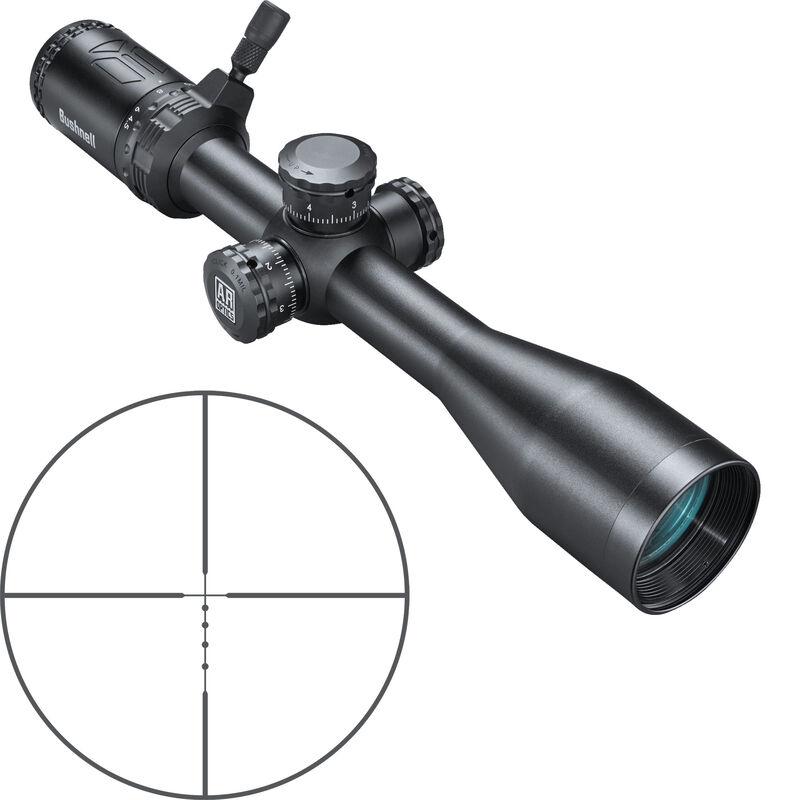 "Bushnell AR Optics 4.5-18x40 Riflescope Drop Zone 223 SFP Reticle 1"" Tube Side Parallax Adjustment Second Focal Plane Black"