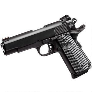 "Rock Island Armory TCM ROCK Ultra FS Combo 1911 Semi Auto Handgun .22 TCM / 9mm Luger 5"" Barrel 10 Rounds Parkerized Steel Frame G10 Grips Black"