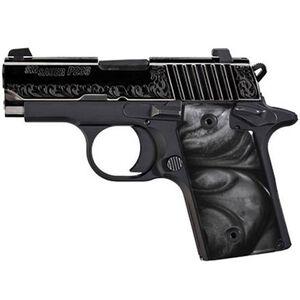 "SIG Sauer P238 Black Pearl Semi Auto Pistol .380 ACP 2.7"" Barrel 6 Rounds Night Sights Black Pearl Grips Black 238-380-ESB"