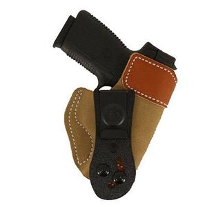 DeSantis 106 Kahr KP45, PM45, Ruger LC9 Sof-Tuck Inside the Pant Right Hand Leather Tan