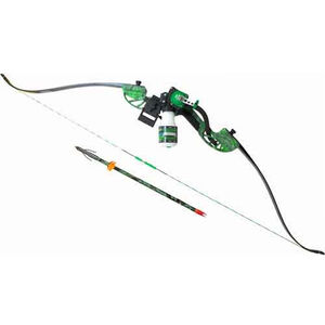 AMS Water Moc Recurve Bowfishing Bow Kit Right Hand Green