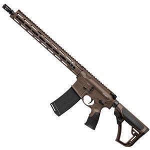 "Daniel Defense M4 v7 AR-15 Semi Auto Rifle 5.56 NATO 16"" Barrel 30 Rounds DD MFR Free Float M-LOK Hand Guard Collapsible Stock Mil Spec + Cerakote Finish"