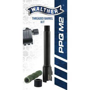 Walther PPQ M2 9mm Threaded Barrel Kit Black