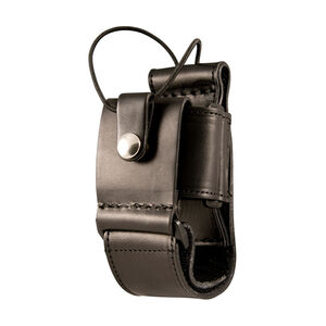 Boston Leather 5610 Multi-Adjustable Radio Holder Leather Plain Black 5610-1