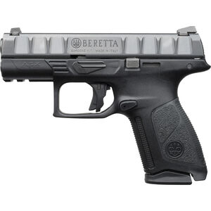 "Beretta APX Centurion 9mm Luger Semi Auto Pistol 3.7"" Barrel 15 Rounds Serialized Chassis Modular Polymer Grip Frame Black"