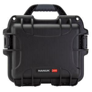 Nanuk 905 Small Hard Case High Impact Polymer Black 905-1001