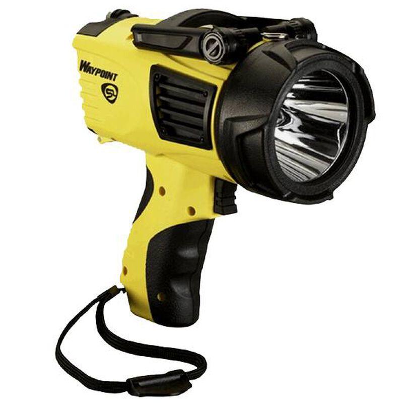 Streamlight WayPoint 3 Mode LED Flashlight 210 Lumens Trigger Switch C Batteries Polymer Body Yellow 44904
