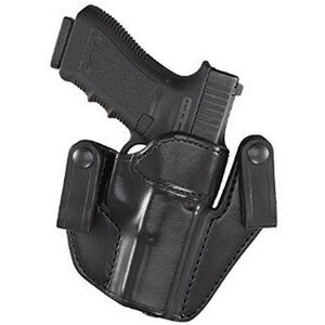 Aker Leather 176 Patriot 1911 Government IWB Holster Right Hand Leather Plain Black