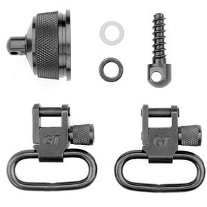 "GrovTec Remington 870 20 Gauge Shotgun Locking Swivel 1"" Slings Steel Black"
