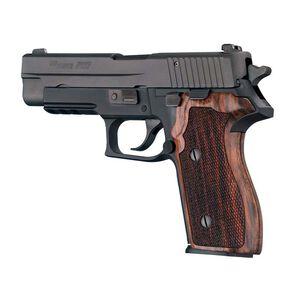 Hogue SIG P227 DA/SA Custom Grip Rosewood Checkered 47960