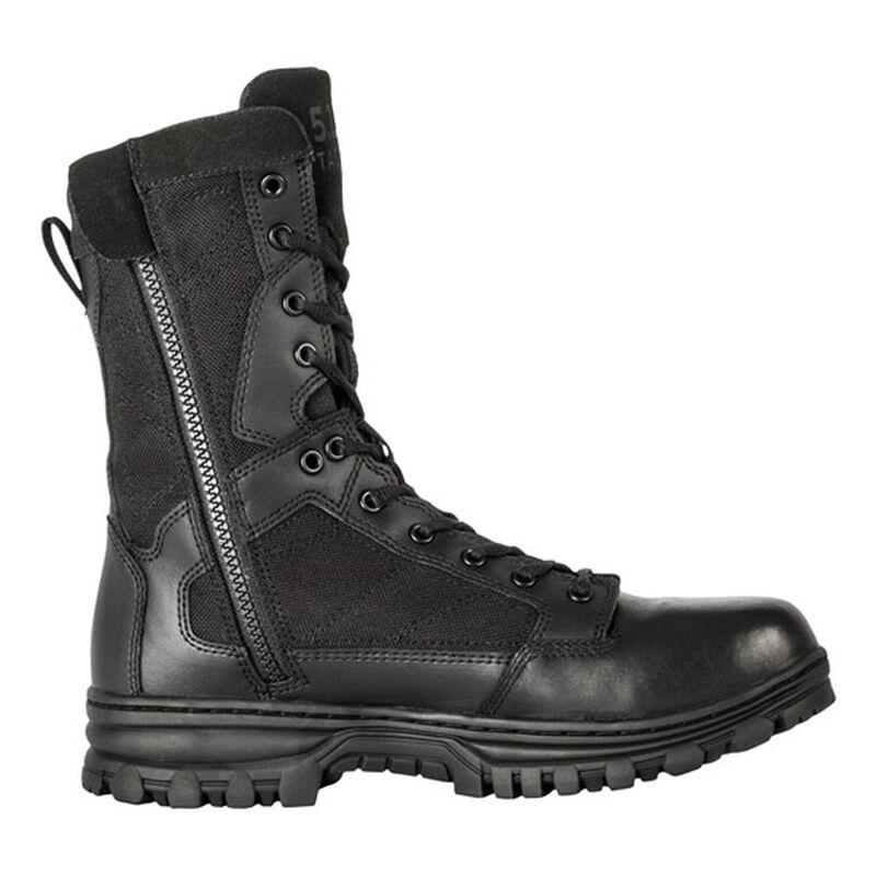 "5.11 Tactical EVO 8"" Side Zip Leather/Nylon Boot Black 10.5R"
