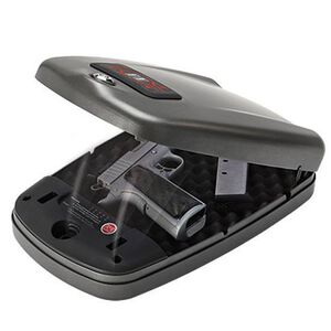 """Hornady RAPiD Safe 2700KP XL 5"""" Barrel 1911 and 4"""" Revolvers Heavy Duty Tamper Proof Mobile Security Matte Black"""
