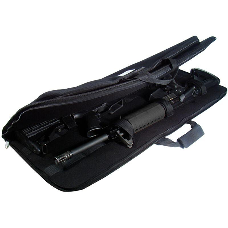 "Leapers UTG Homeland Security Covert Rifle Case 34"" Nylon Black PVC-MC34B"
