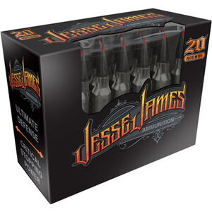 Jesse James Black Label .223 Remington Ammunition 20 Rounds 55 Grain Hornady V-Max Polymer Tip Projectile 3196fps