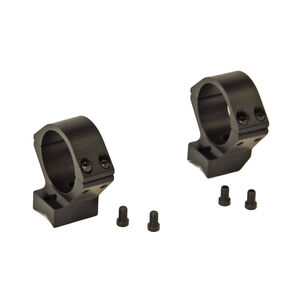 "Talley Manufacturing Barrett Fieldcraft Lightweight Alloy Scope Mounts 1"" Rings Medium Height Black Anodized Finish"