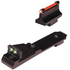 TRUGLO Marlin Lever Action Rifle Sight Set Aluminum Body with Green Rear and Red Front TG109