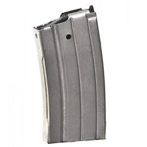 ProMag Ruger Mini-14 .223 20 Round Nickel Plated Steel RUG-A1N