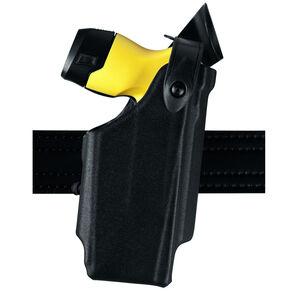 Safariland Model 6520 Taser X2 EDW Level II Retention Duty Holster with Belt Clip Left Hand STX Basketweave Black 6520-264-482