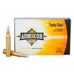 Armscor USA .300 Win Mag Ammunition 160 Rounds PT 180 Grain
