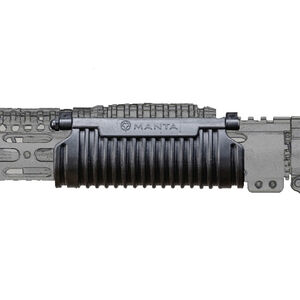 Manta TAC-Wrap Forend Cover for Handguards with Top Rail Only Synthetic Black M6100