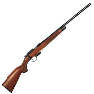 """Rock Island Armory M22 Bolt Action Rifle .22 TCM 22.75"""" Barrel 5 Rounds Detachable Magazine Wood Stock Barrel Black Finish 51108"""