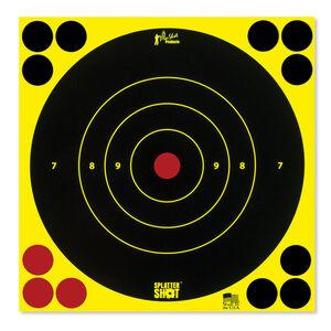 """Pro-Shot Splatter Shot 8"""" Round Bull's-eye 6 Pack"""