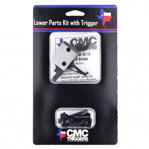CMC Triggers Complete AR-15 Lower Receiver Parts Kit with 3.5lb Single Stage Flat Trigger