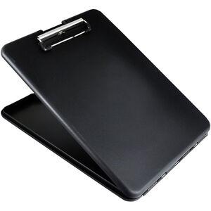 Saunders SlimMate Storage Clipboard Letter/A4 Size, Black