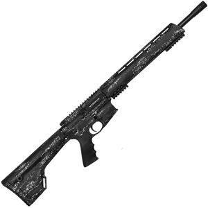 "Brenton USA Ranger Carbon Hunter .450 Bushmaster AR-15 Semi Auto Rifle 18"" Barrel 5 Rounds Free Float Handguard Fixed Stock Midnight Camo Finish"