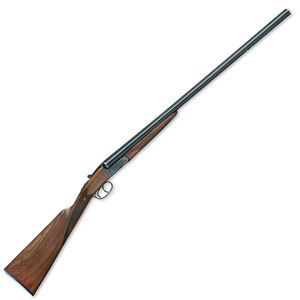 """IFG/F.A.I.R ISIDE Side By Side Shotgun 12 Gauge 28"""" Barrels 3"""" Chamber 2 Round Capacity Normal Extractor Single Selective Trigger Wooden Stock/Forend Gloss Black Barrels"""