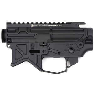 Battle Arms Development AR-15 Stripped Lightweight Billet Upper and Lower Receiver Set Aluminum Black 100-016-158