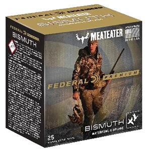 """Federal Bismuth Ammunition 20 Gauge Box 3"""" #4 Bismuth Shot 1-1/8 Ounce 1350 fps"""