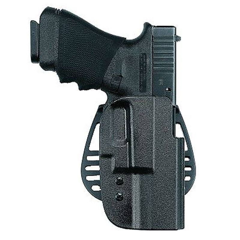 Uncle Mike's Kydex Paddle Holster S&W M&P Open Top Right Hand Size 17 Black