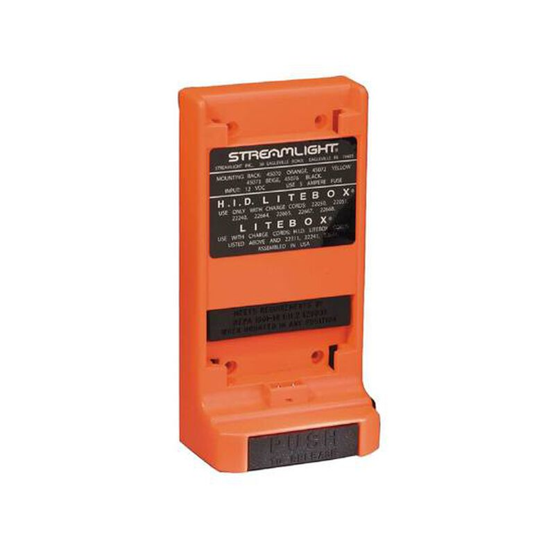 Streamlight Mounting Rack Standard Orange