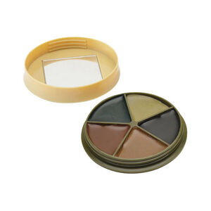 HME 5 Color Face Paint Kit with Mirror