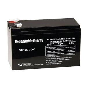 American Hunter Dependable Energy Battery Rechargeable 12 Volts 7 Amps DE30020