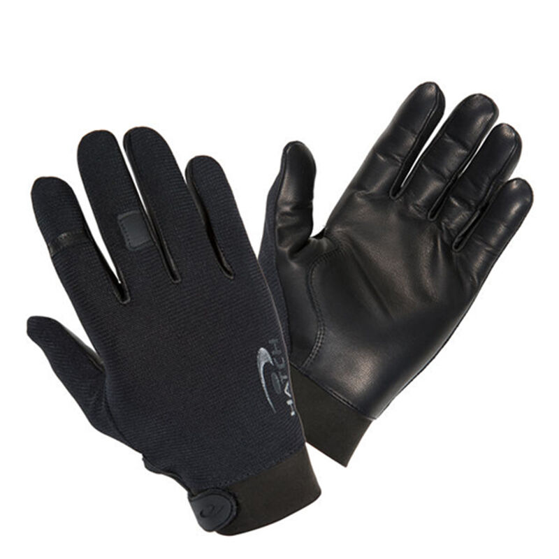fHatch TSK33 Task Light Glove 2x Leather/Fabric Black