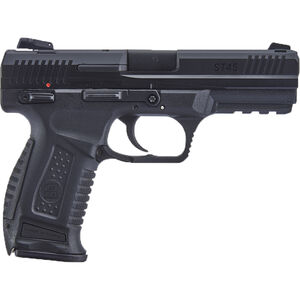 "SAR USA ST45 .45 ACP Semi Auto Pistol 4.5"" Barrel 12 Rounds 3-Dot Sights Polymer Frame Two Tone Black Finish"