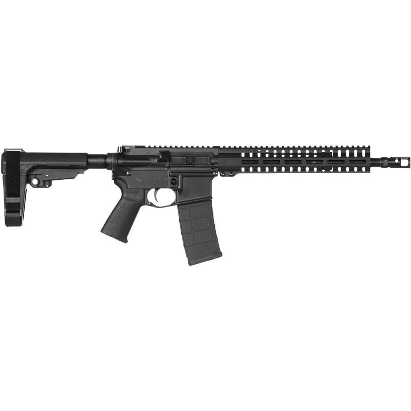 "CMMG Banshee 200 Mk4 5.56 NATO AR-15 Semi Auto Pistol 12.5"" Barrel 30 Rounds RML11 M-LOK Handguard CMMG Micro/CQB RipBrace Black Finish"