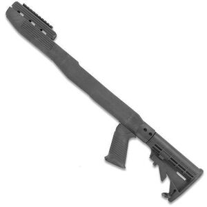 TAPCO Intrafuse T6 SKS Stock System Collapsible Stock/Pistol Grip/Picatinny Rail Upper Hand Guard Polymer Matte Black