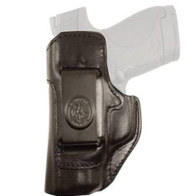 DeSantis Inside Heat IWB Holster For GLOCK 19/23 Left Hand Leather Black 127BBB6Z0