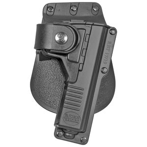 Fobus Tactical Holster Glock 19/23/32/45 with Light or Laser Right Hand Paddle Black