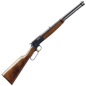 "Browning BL-22 Micro Midas Lever Action Rifle .22 LR 16.25"" Barrel 11 Rounds Adjustable Sights Gloss Walnut Straight Grip Stock Blued Finish 024115103"