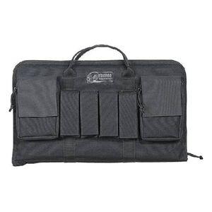 """Voodoo Tactical Enlarged Pistol Case 10""""x19""""x2"""" Black"""