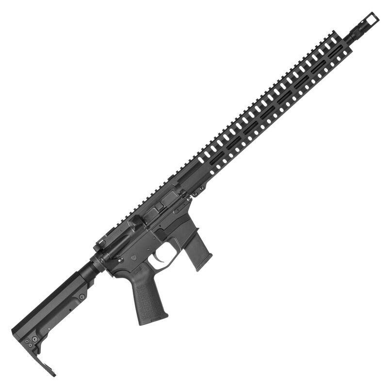 "CMMG Resolute 200 Series MkG .45 ACP AR Style Semi Auto Rifle 16"" Barrel 13 Rounds CMMG RML15 M-LOK Hand Guard MOE Pistol Grip/RipStock Matte Black Finish"